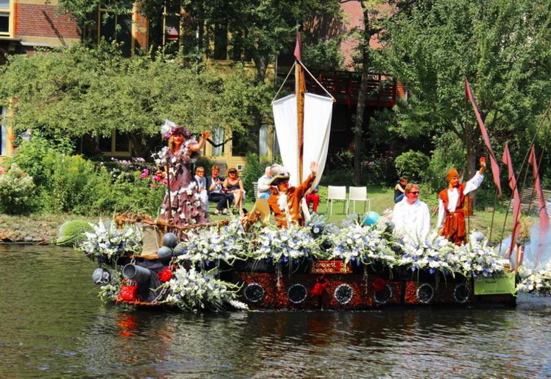 Роскошное зрелище: Парад цветов в Нидерландах