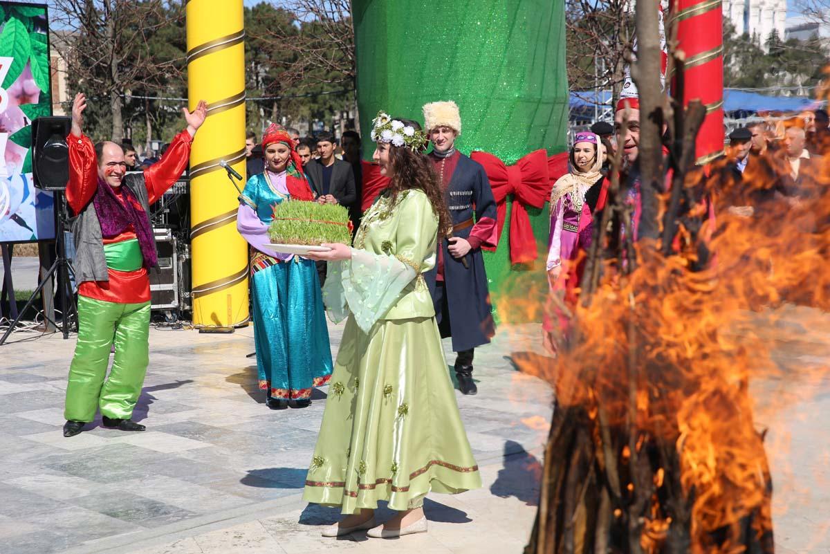 Binəqədi rayonunda Novruz şənliyi keçirilib