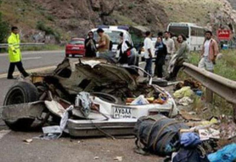 İranda Novruz tətilində yol qəzaları 169 can aldı