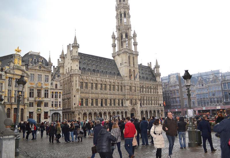 В Брюсселе водители общественного транспорта устроили забастовку