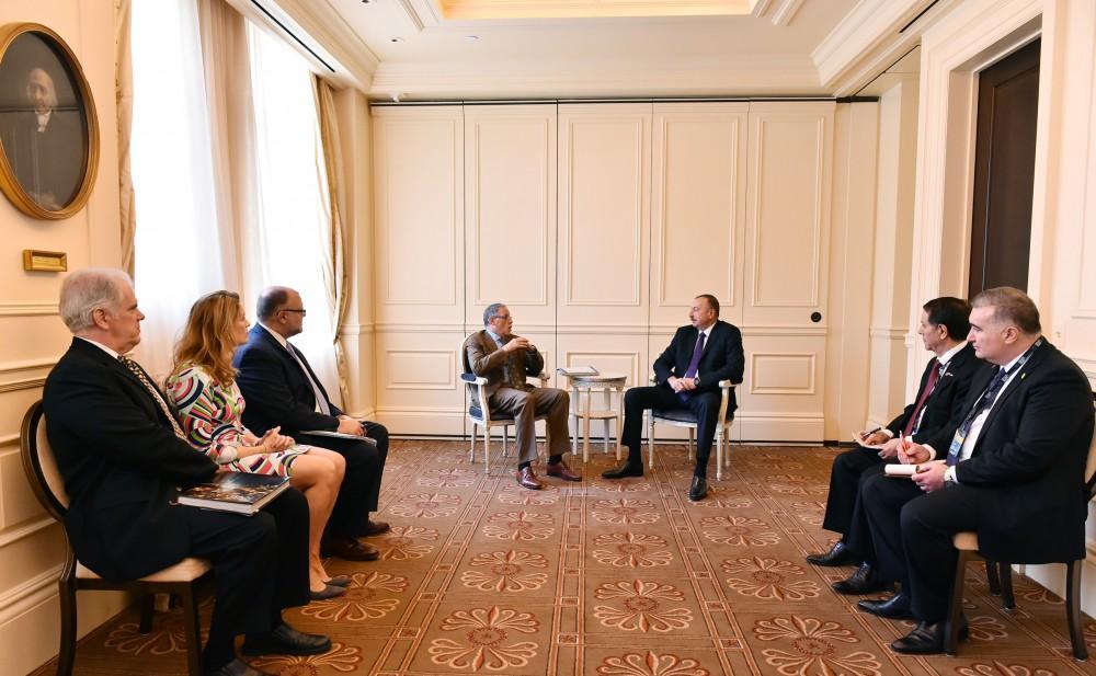 Визит Президента Ильхама Алиева в США