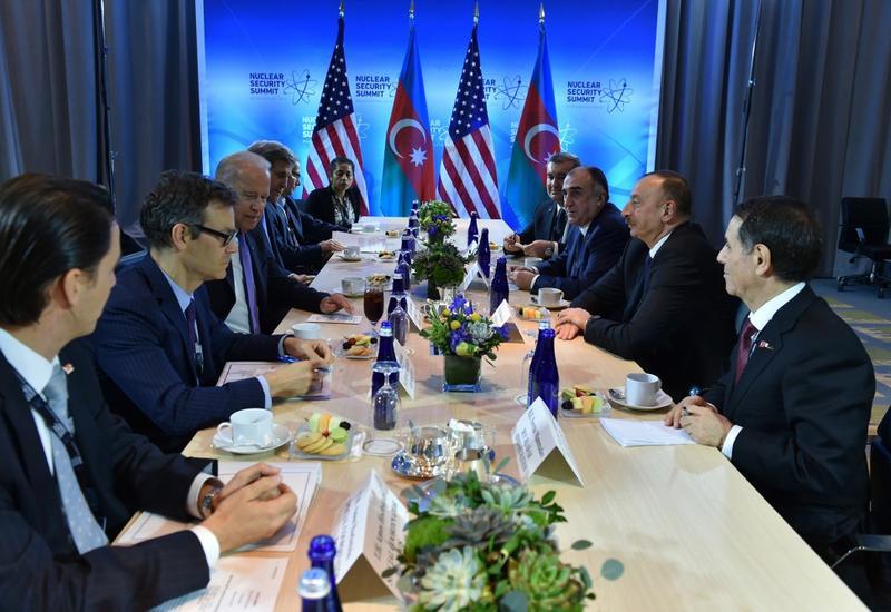 Президент Ильхам Алиев: Азербайджан заинтересован в усилении сотрудничества с США в политической, экономической и энергетической сферах