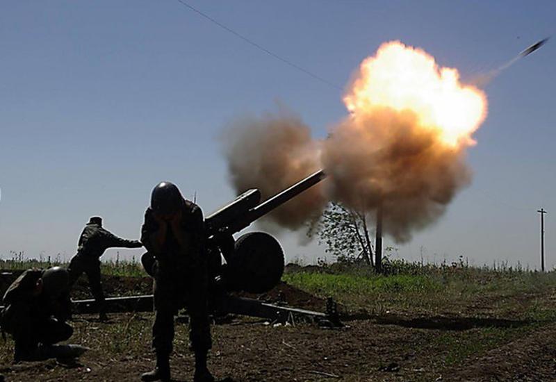 Армянские ВС обстреляли территорию Геранбойского района