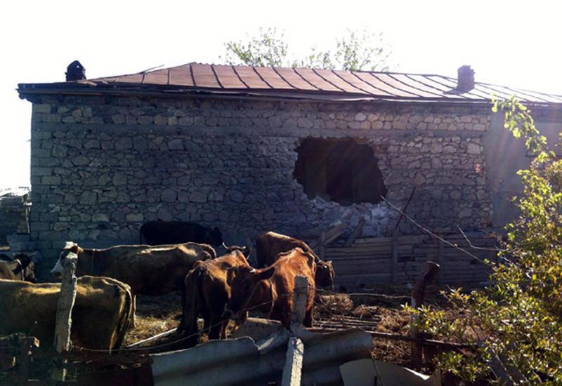 Госкомиссия о разрушениях, причиненных армянскими обстрелами