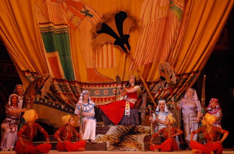 Роскошная «Аида» на сцене Театра оперы и балета
