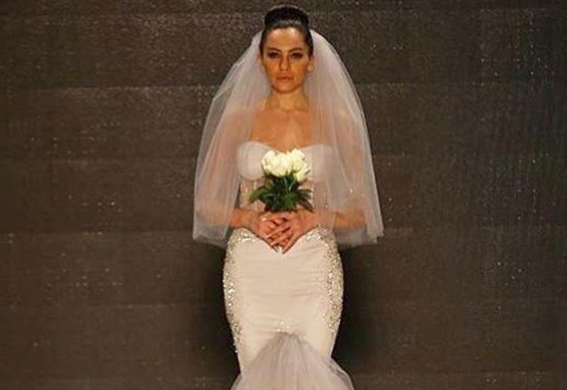 """Гюнай Мусаева предстала в свадебном платье <span class=""""color_red"""">- ФОТО</span>"""