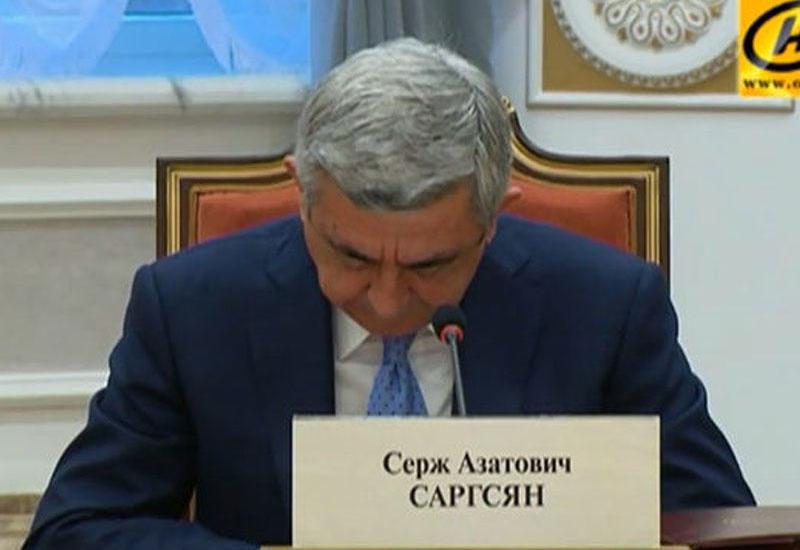 Карабахский акцент: Саргсян завел старую песню о новой власти