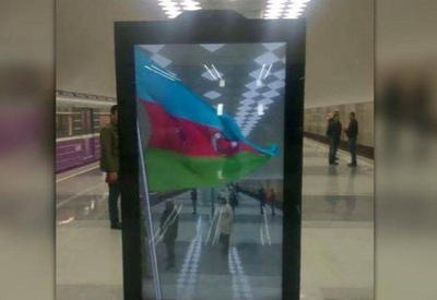 "Yeni açılan metrostansiyada kreativ monitor <span class=""color_red"">- VİDEO</span>"