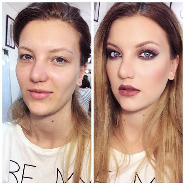 extreme makeup transformations - 550×550