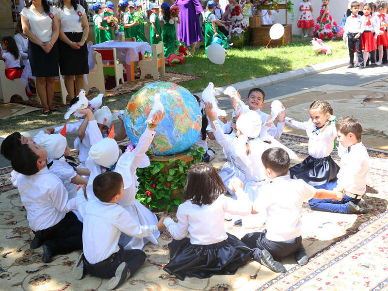 1 iyun - Uşaqların Beynəlxalq Müdafiəsi Günü ilə bağlı tədbir keçirilib