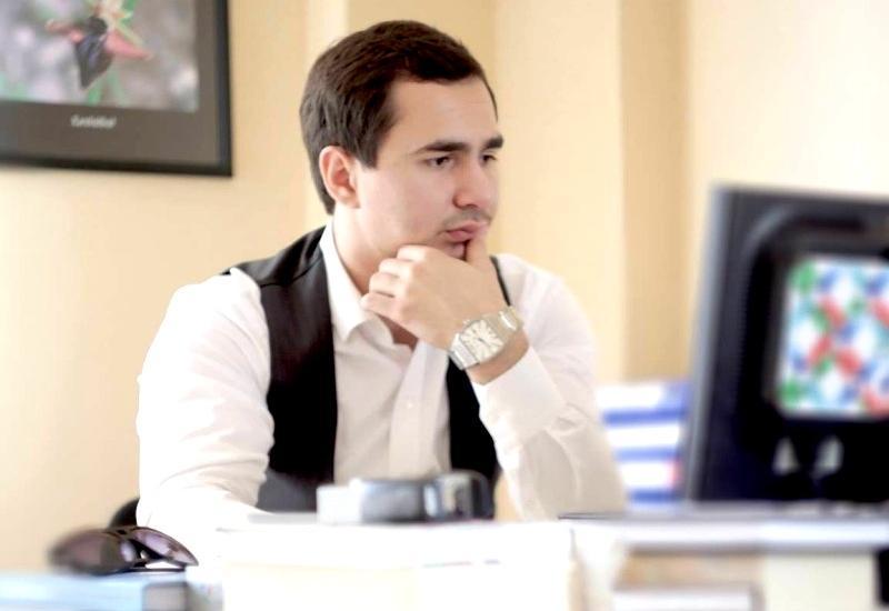 """Орхан Рустамов в проекте Day.Az """"Молодежь за Ильхама Алиева"""""""