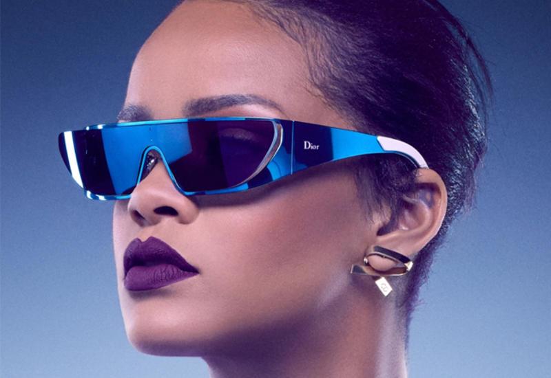Рианна создала для Dior коллекцию фантастических очков