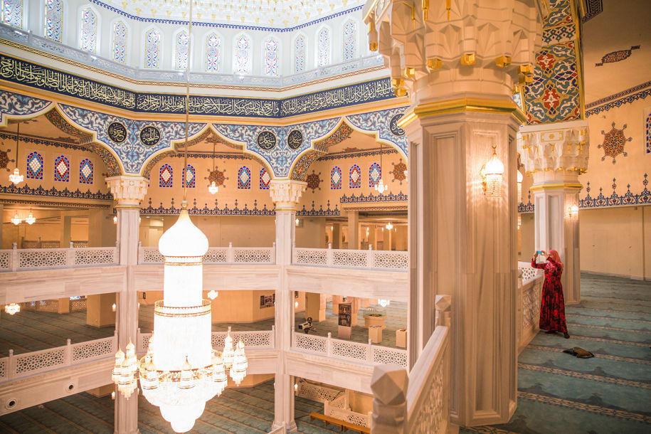 мечеть проспект мира фото внутри