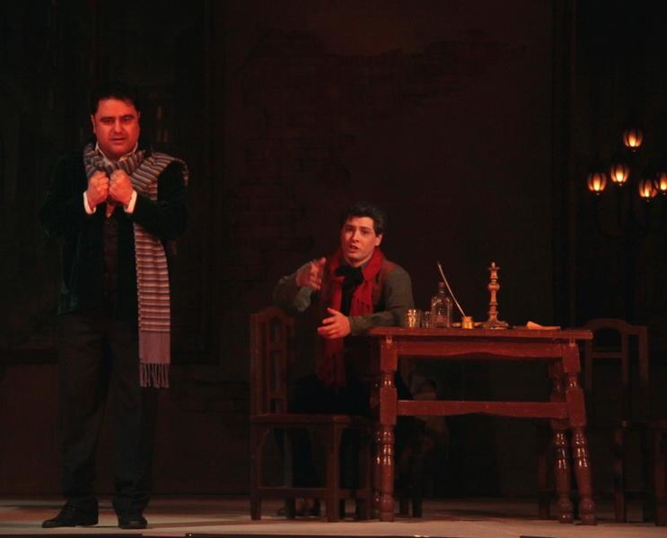 """Великолепная """"Богема"""" на сцене Театра оперы и балета"""