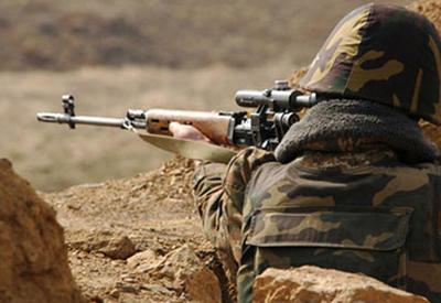 Армяне снова обстреляли позиции ВС Азербайджана