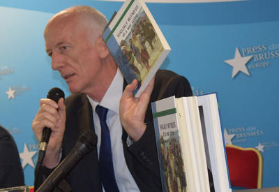 "В Брюсселе презентована книга о Ходжалинском геноциде <span class=""color_red"">- ФОТО</span>"