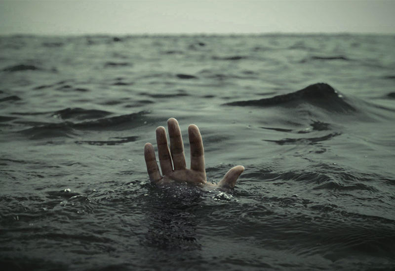 Вот как азербайджанские спасатели нашли тело утонувшего в реке мужчины
