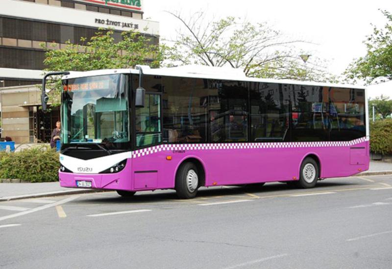 В Баку продлен один из автобусных маршрутов