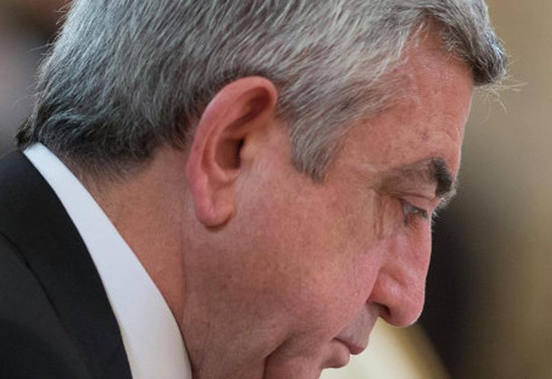 Армения осталась без премьера - Серж Саргсян подал в отставку