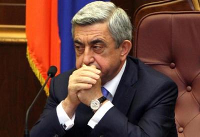 В Армении Саргсяна назвали «опасным и конченным человеком»
