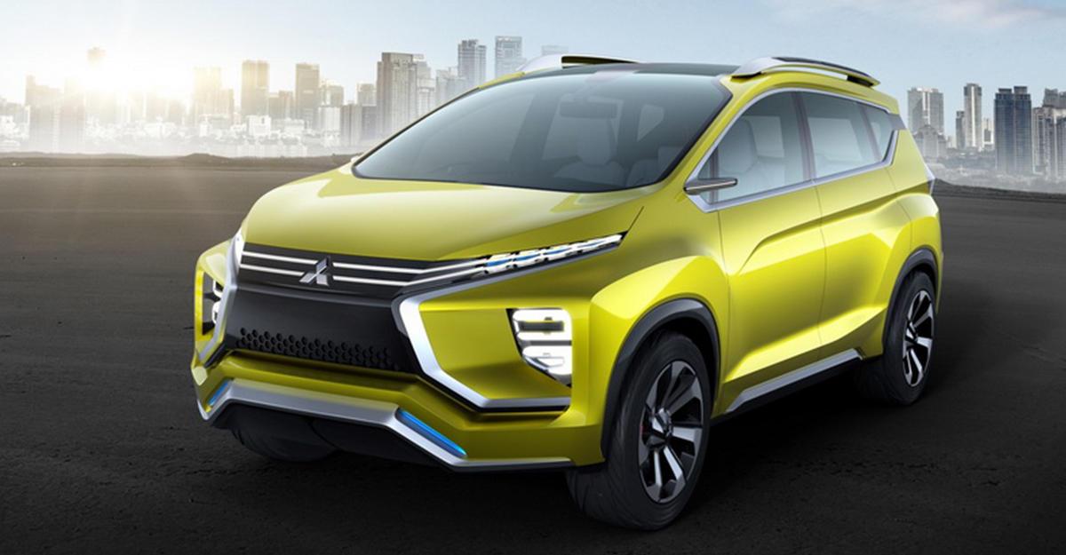 Новый кроссовер от Mitsubishi представили в Индонезии