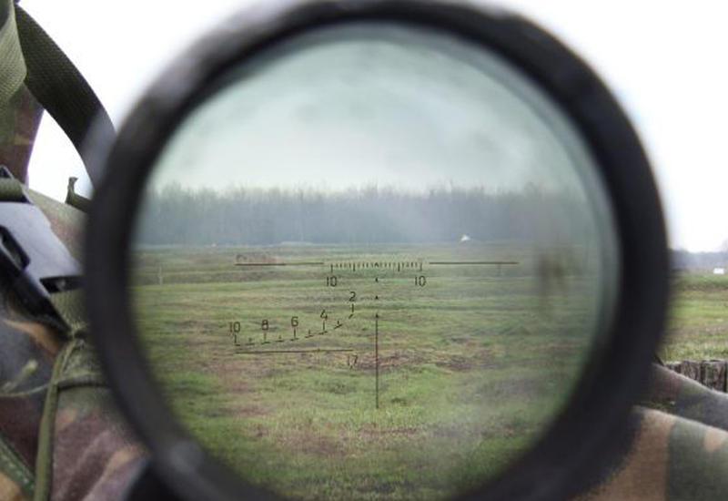 Армянские снайперы обстреляли позиции ВС Азербайджана