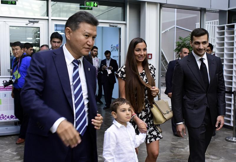 Выставочный зал Бакинской шахматной олимпиады вызывает большой интерес у любителей спорта