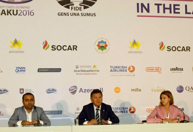 Кирсан Илюмжинов: Шахматная олимпиада в Баку самая лучшая в истории
