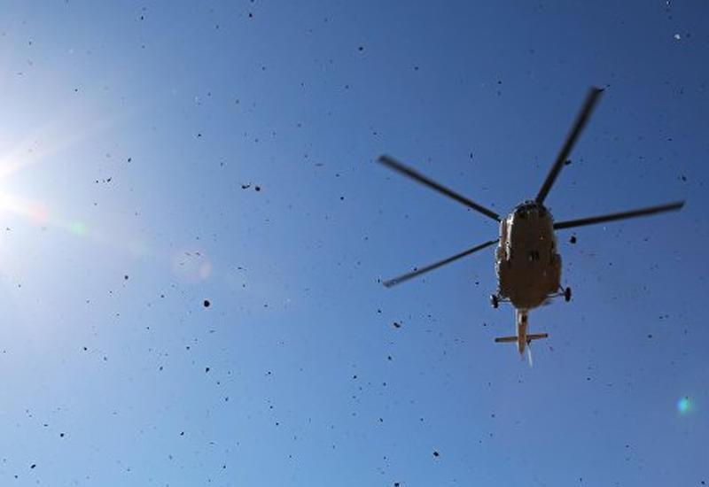 В Индии разбился военный вертолет