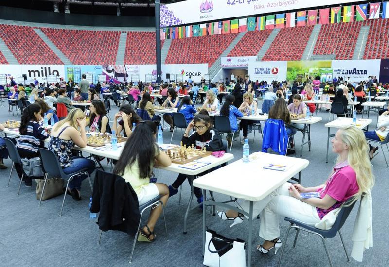 Проведены игры седьмого тура 42-й Всемирной шахматной олимпиады