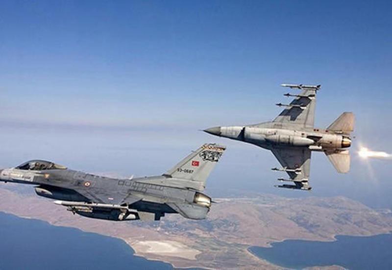 Турецкая авиация атаковала позиции РПК в Ираке