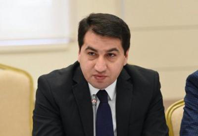"""Hikmət Hacıyev: """"Azərbaycan Rusiya XİN-ə etirazını çatdıracaq"""""""