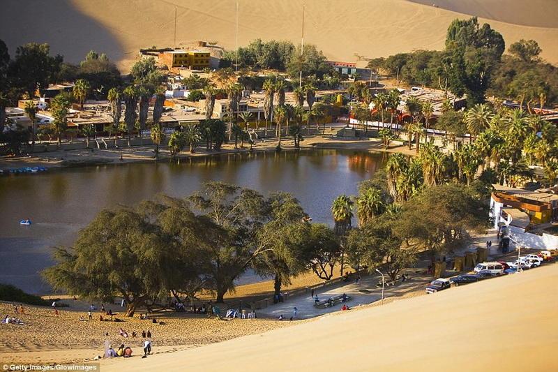 Удивительный город-оазис посреди пустыни в Перу
