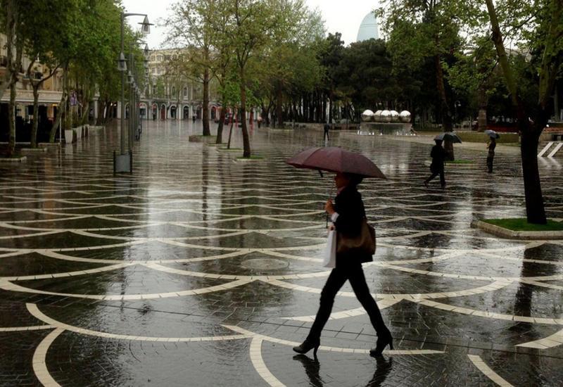 В Баку ожидаются дожди, мокрый снег