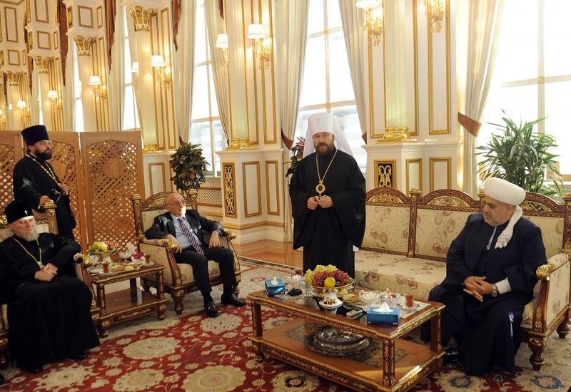 Митрополит Иларион: Бакинский гуманитарный форум - очень своевременная инициатива Президента Ильхама Алиева