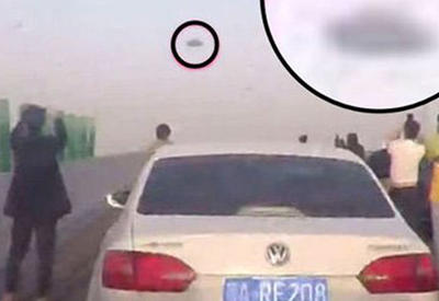 "Водители побросали свои машины, взглянув на небо <span class=""color_red"">- ВИДЕО</span>"