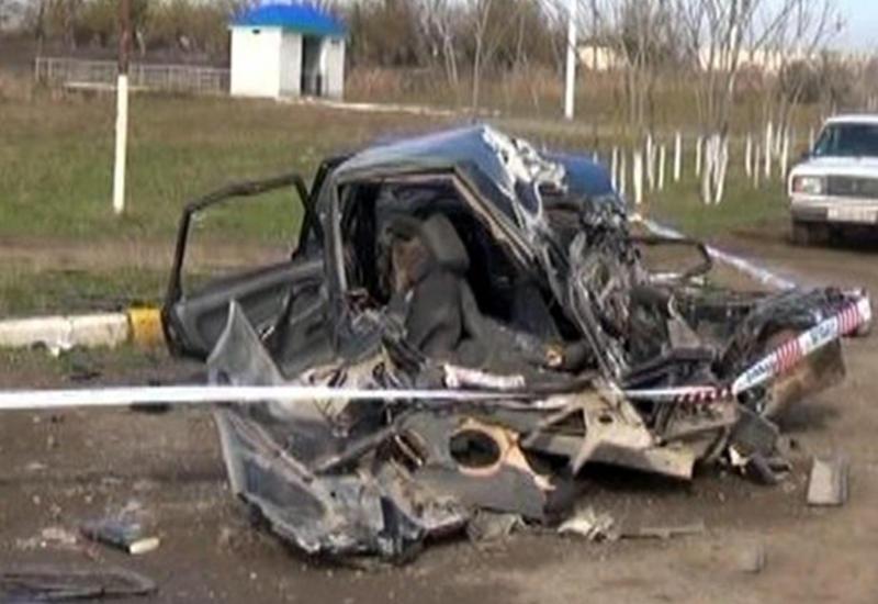 Тяжелая авария в Мингячевире, много пострадавших