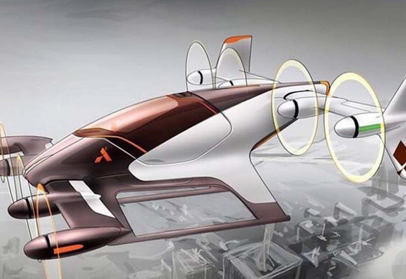 Airbus показал концепт воздушного такси