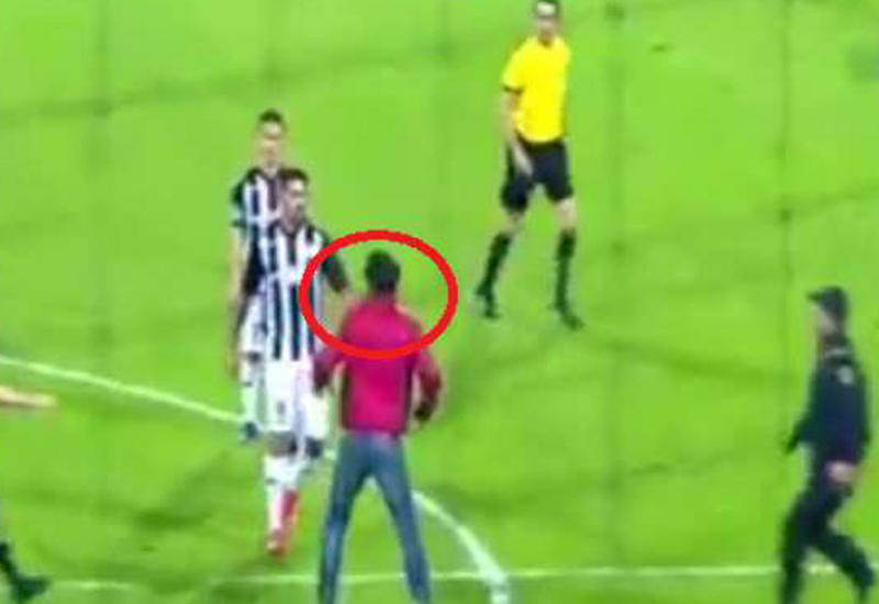 "Футболист ""Нефтчи"", ударивший болельщика, будет жестко наказан"
