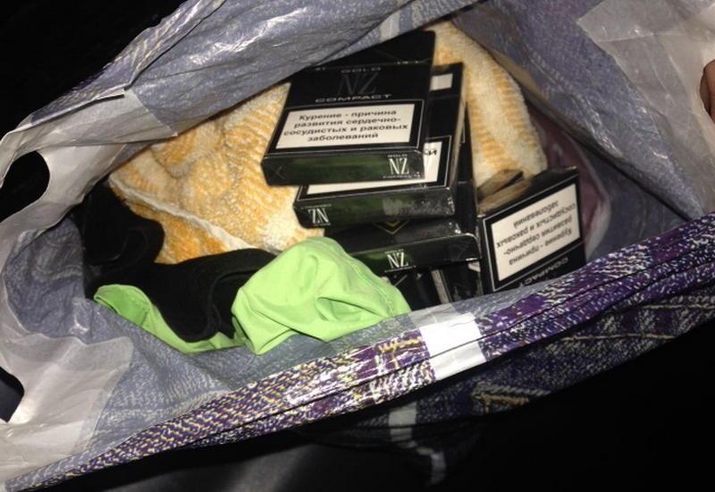 В Азербайджан пытались провезти сигареты необычным способом