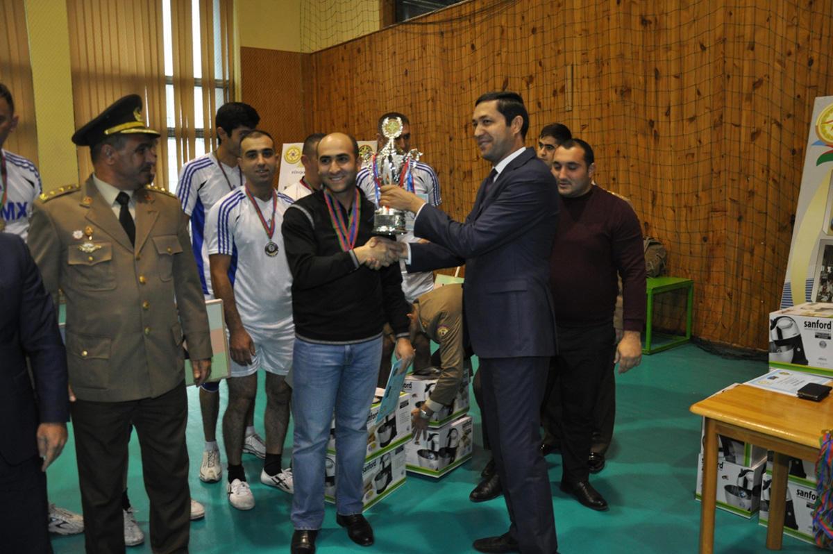 Сотрудники МЧС выявили лучших волейболистов