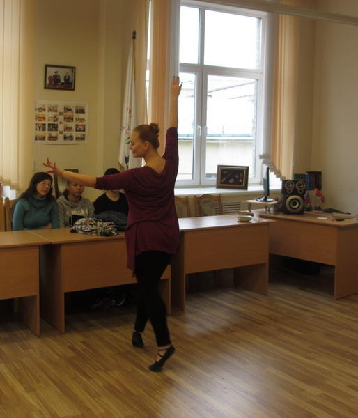 В Минске прошел мастер-класс по национальным танцам Азербайджана