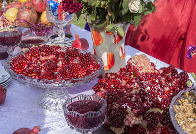 Волшебный фрукт Азербайджана - РЕПОРТАЖ С ПРАЗДНИКА ГРАНАТА - ФОТО