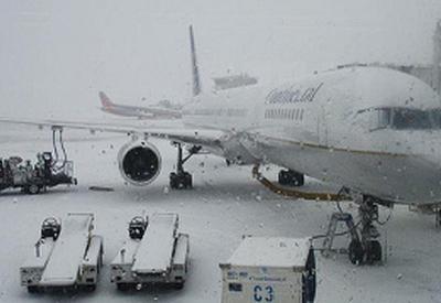 В московских аэропортах отменили 35 рейсов