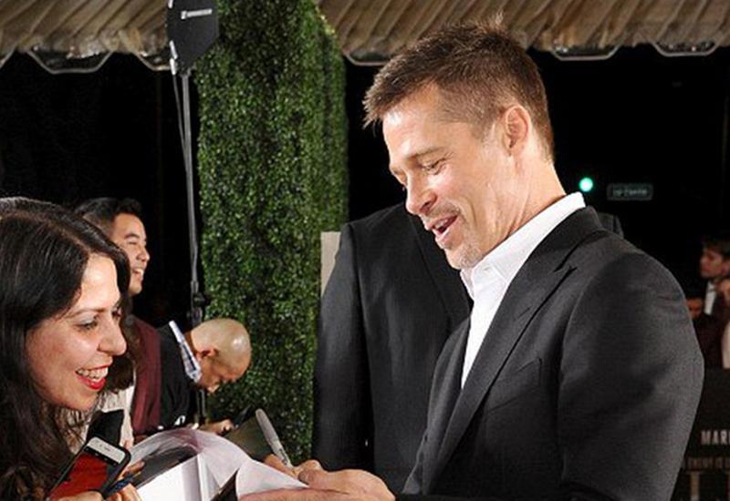 Брэд Питт впервые появился на публике после расставания с Джоли