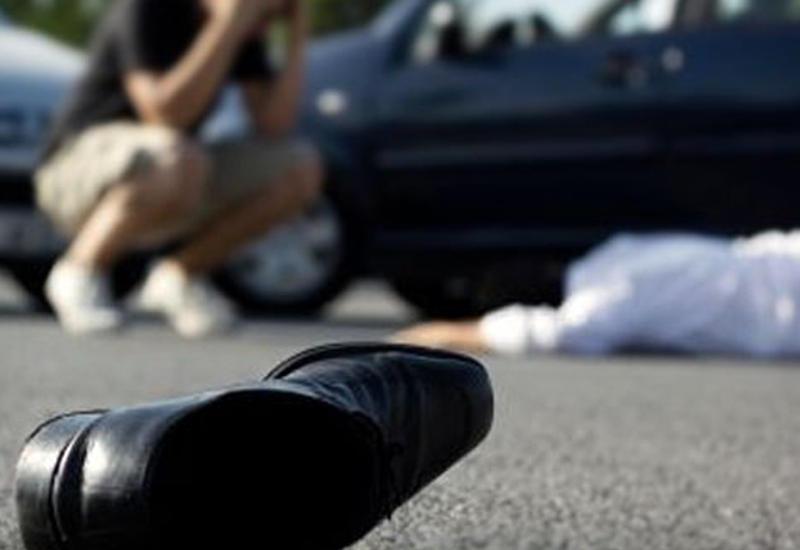В Шамкире автомобиль сбил пьяного пешехода