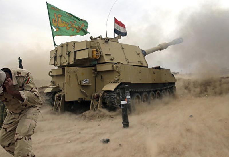 Иракские войска приостановили наступление на Мосул