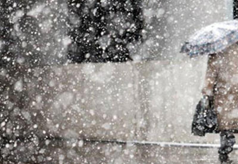 В Баку резко похолодает, ожидается мокрый снег