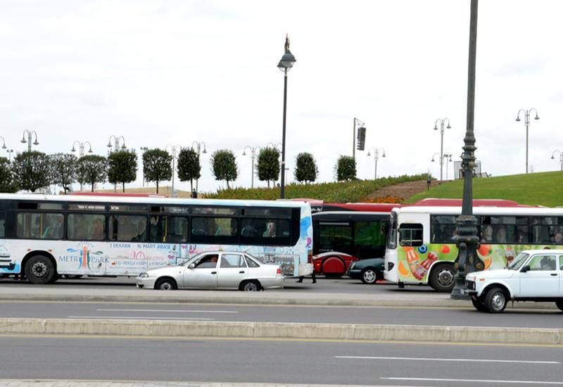 Bakıda daha bir avtobusun hərəkət trayektoriyası dəyişdi