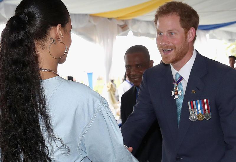 Принц Гарри встретился с Рианной
